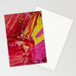 Artist's Pink Paint Palette Stationery Cards