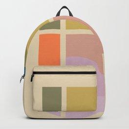 Modern geometric shapes Backpack