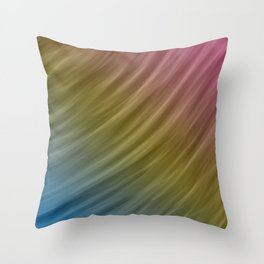 Abstract painting color texture 16 Throw Pillow