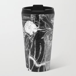 Mother and Child Chalkboard Travel Mug