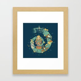 It's Time For A Little Madness Framed Art Print