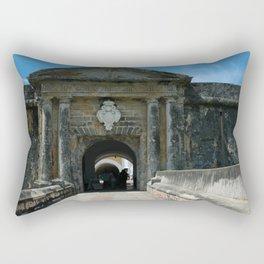 Castillo de San Cristobal Rectangular Pillow
