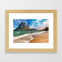 Ao Noi beach Thailand Framed Art Print