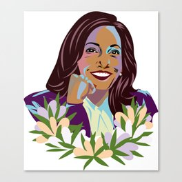 Madam Vice President for the People Canvas Print