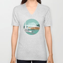 Do Not Visit Mansfield Unisex V-Neck