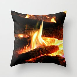 Why Should The Fire Die? Throw Pillow