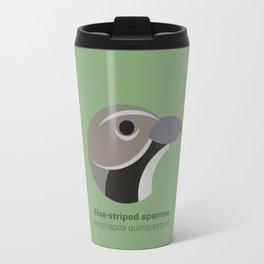Five-striped sparrow Travel Mug