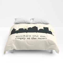 Harry Styles Ever Since New York illustration Comforters
