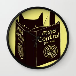 Mind Control (buy this) Wall Clock