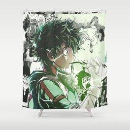 Midoriya Izuku My Hero Academia Shower Curtain