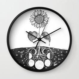 Prāṇa (Life Force) Wall Clock