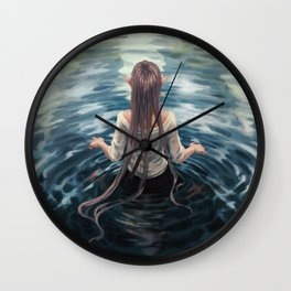 The well Wall Clock