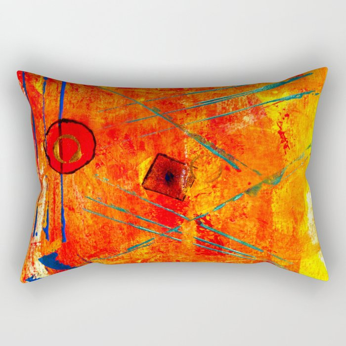 Limbic Blast Rectangular Pillow