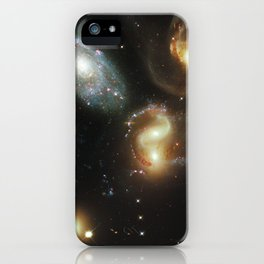 Galactic wreckage iPhone Case