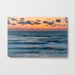 Ten Mile Sunset Metal Print