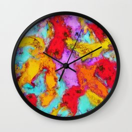 Floating temperatures Wall Clock