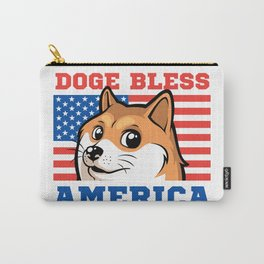 Doge Bless America Carry-All Pouch