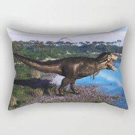 Tyrannosaurus 2 Rectangular Pillow