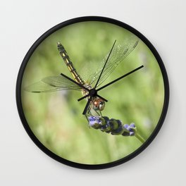 A Taste of Lavender Wall Clock