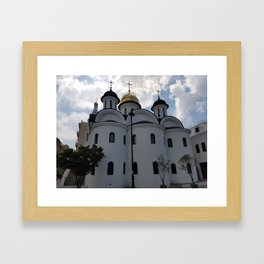 Our Lady of Kazan Orthodox Cathedral Framed Art Print
