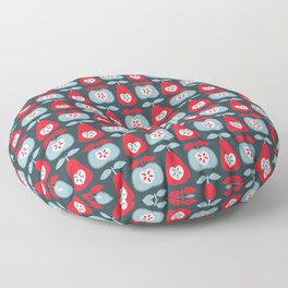 Up The Apples & Pears Floor Pillow