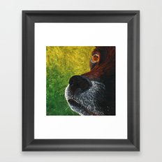 nosey fella Framed Art Print