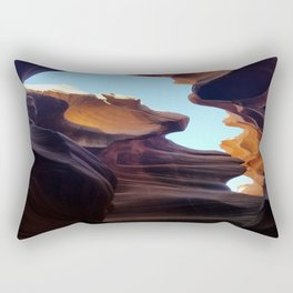 Antelope Canyon #7 Rectangular Pillow