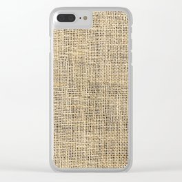 Canvas 1 Clear iPhone Case