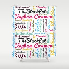 Clapham Common Shower Curtain