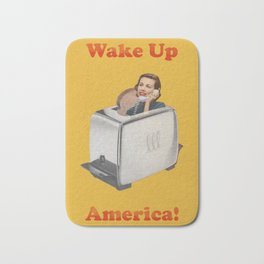 Wake Up Call Bath Mat
