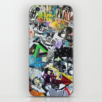 los angeles iPhone & iPod Skins featuring LOS ANGELES by Brandon Neher