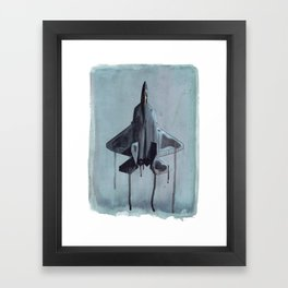 Liquid Steel Framed Art Print