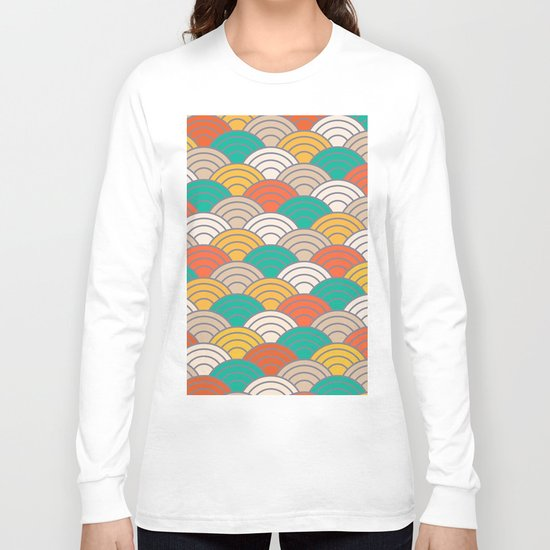 Colorful Circles X Long Sleeve T-shirt