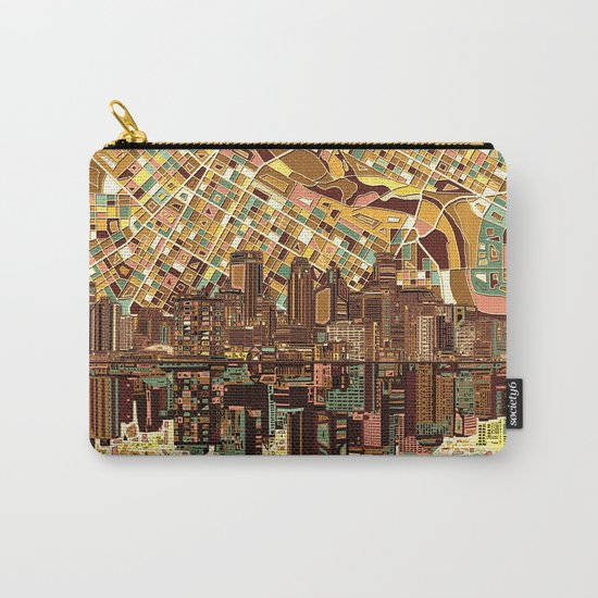 minneapolis city skyline Carry-All Pouch