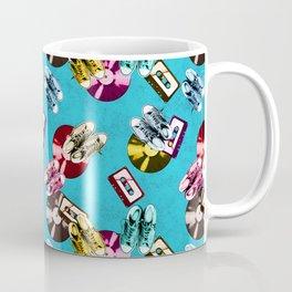 Retro music pattern Coffee Mug