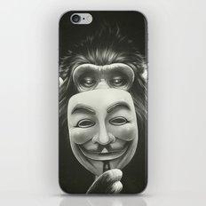 Anonymous iPhone Skin