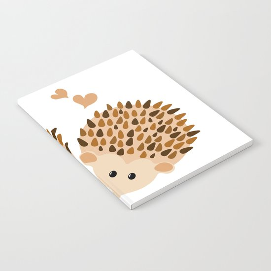 Hedgehogs Notebook
