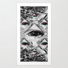 COCKEYE - 3 Art Print
