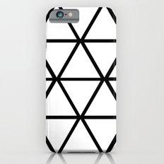 WHITE & BLACK TRIANGLES  iPhone 6s Slim Case