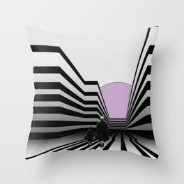 Stay in the lines ... Throw Pillow