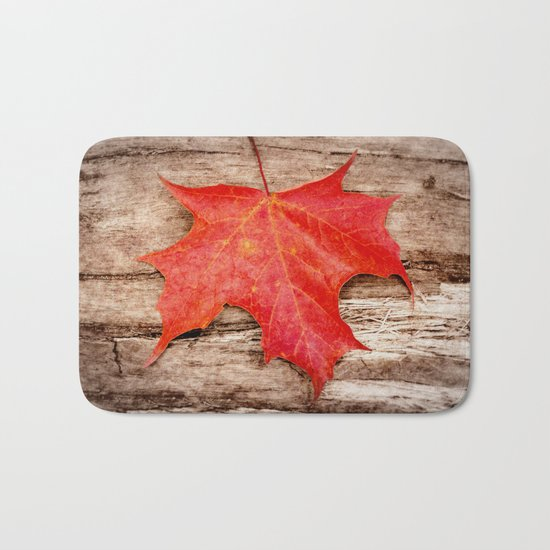 LEAF ME ALONE Bath Mat