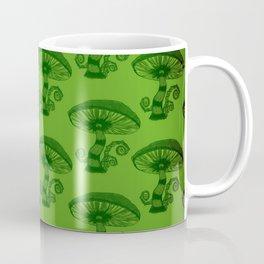 """Mushrooms in the Garden"" Wonderland Style Design by Dark Decors Coffee Mug"