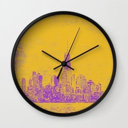 Manhatten Wall Clock