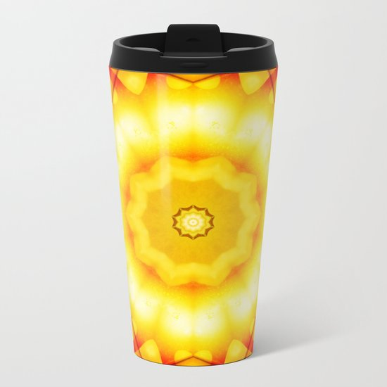 Interwoven Metal Travel Mug