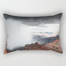 a storm in the grand canyon Rectangular Pillow