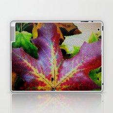 Autumn Leaves - Colored Glass Laptop & iPad Skin