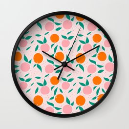 vitamin C Wall Clock