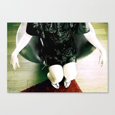 aRE YOU SITTING COMFORTABLY? Canvas Print
