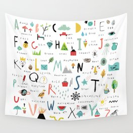 ABC Wall Tapestry