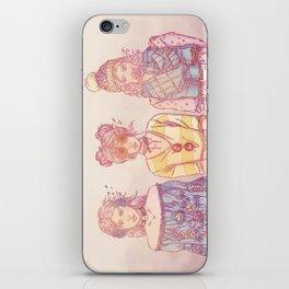Three Wise Sisters iPhone Skin